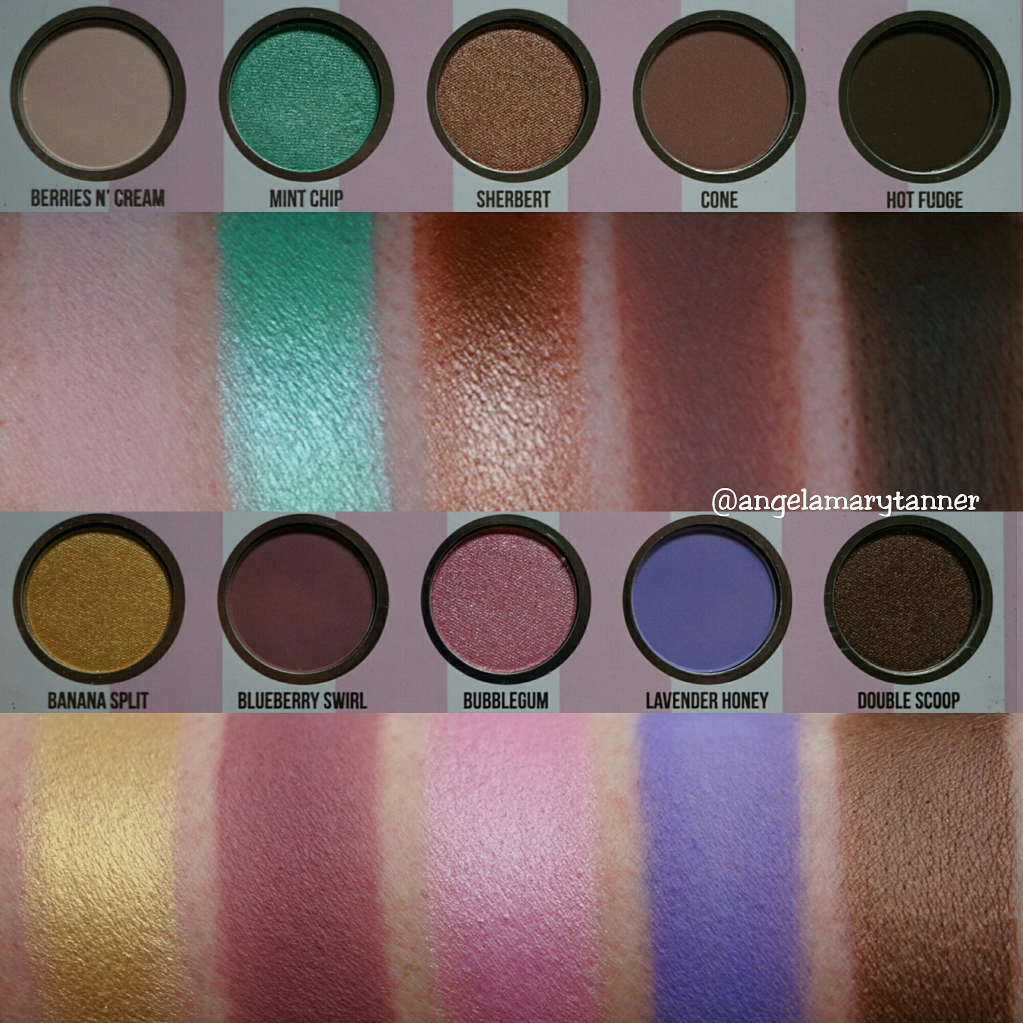DOSE OF COLORS 'EyesCream' PALETTE: REVIEW AND SWATCHES ...