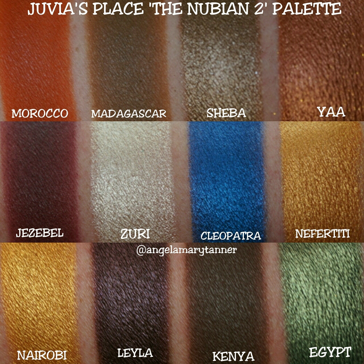 Juvia S Place The Nubian 2 Palette Review Swatches And Discount Code Our Beauty Cult