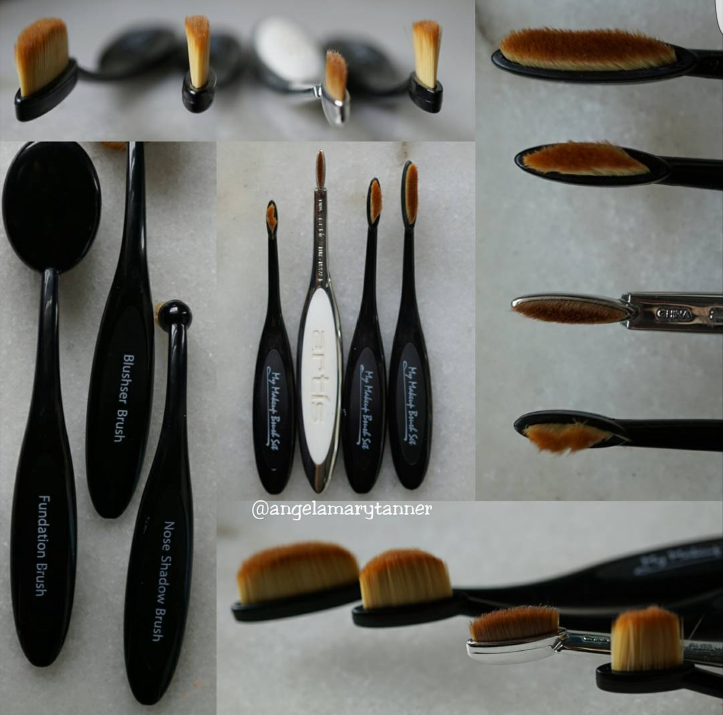 Artis brushes vs my makeup brush set for Brush craft vs artis