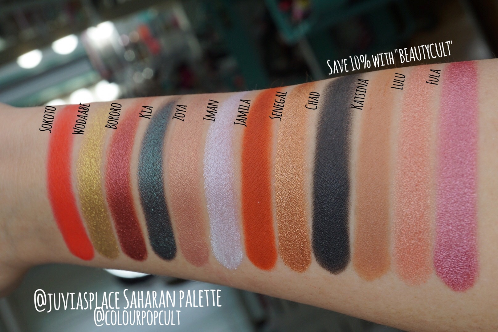 The Saharan II Eyeshadow Palette by Juvia's Place #11