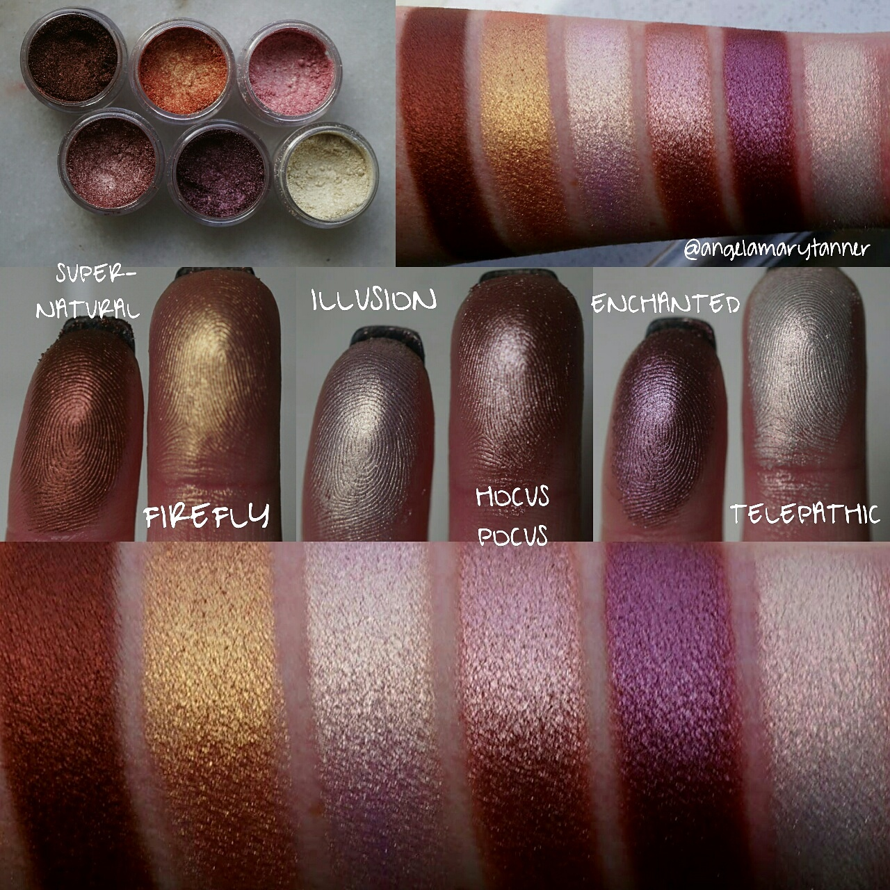Extrêmement NEW MAKEUP GEEK FOILED PIGMENTS: REVIEW and SWATCHES KL92