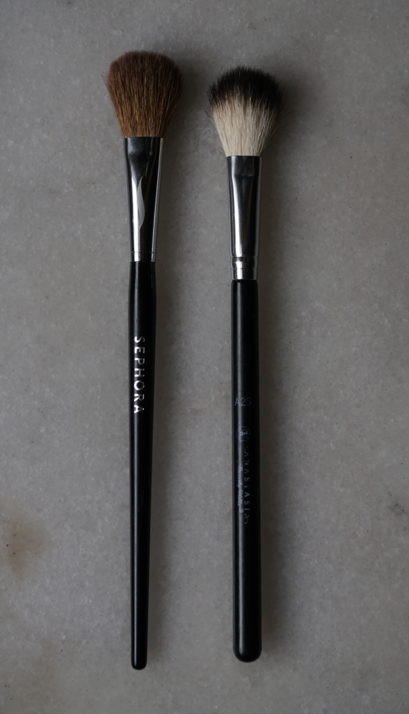 Synthetic makeup brushes morphe