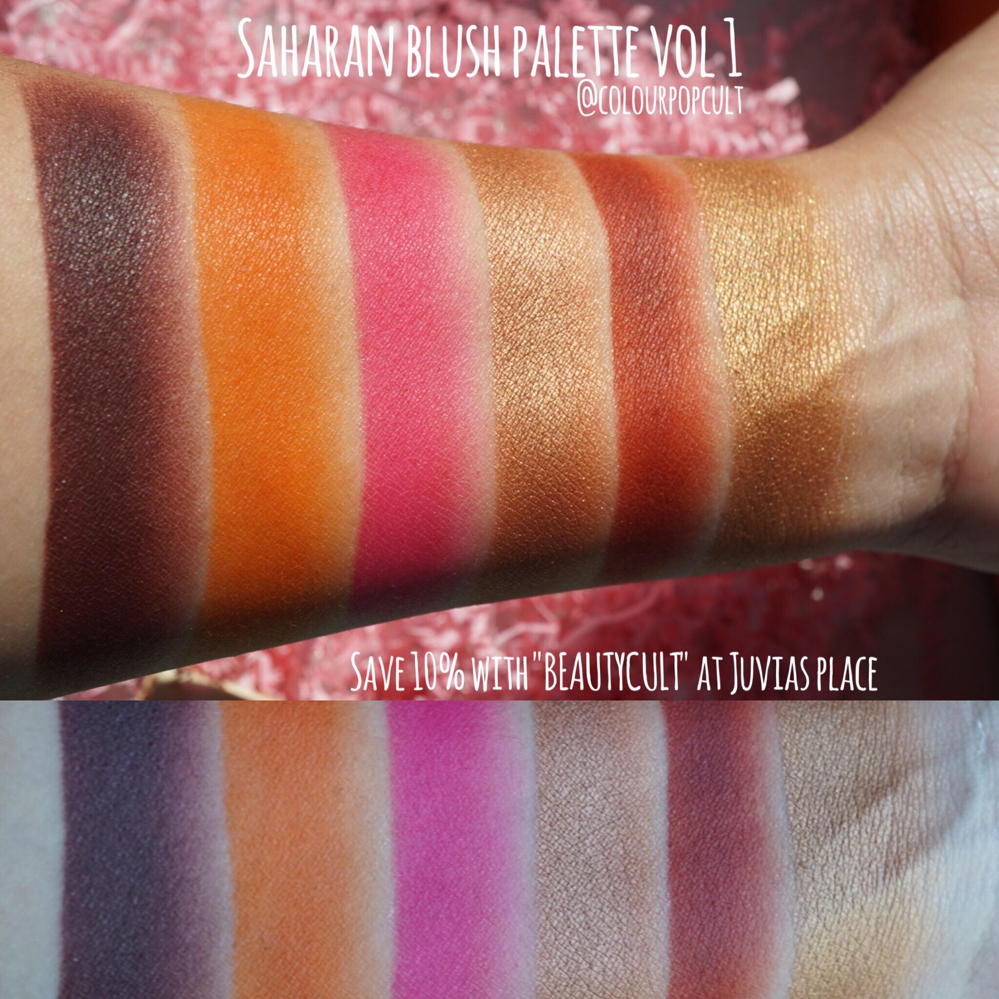 The Saharan Blush Vol. I Blush Palette by Juvia's Place #11