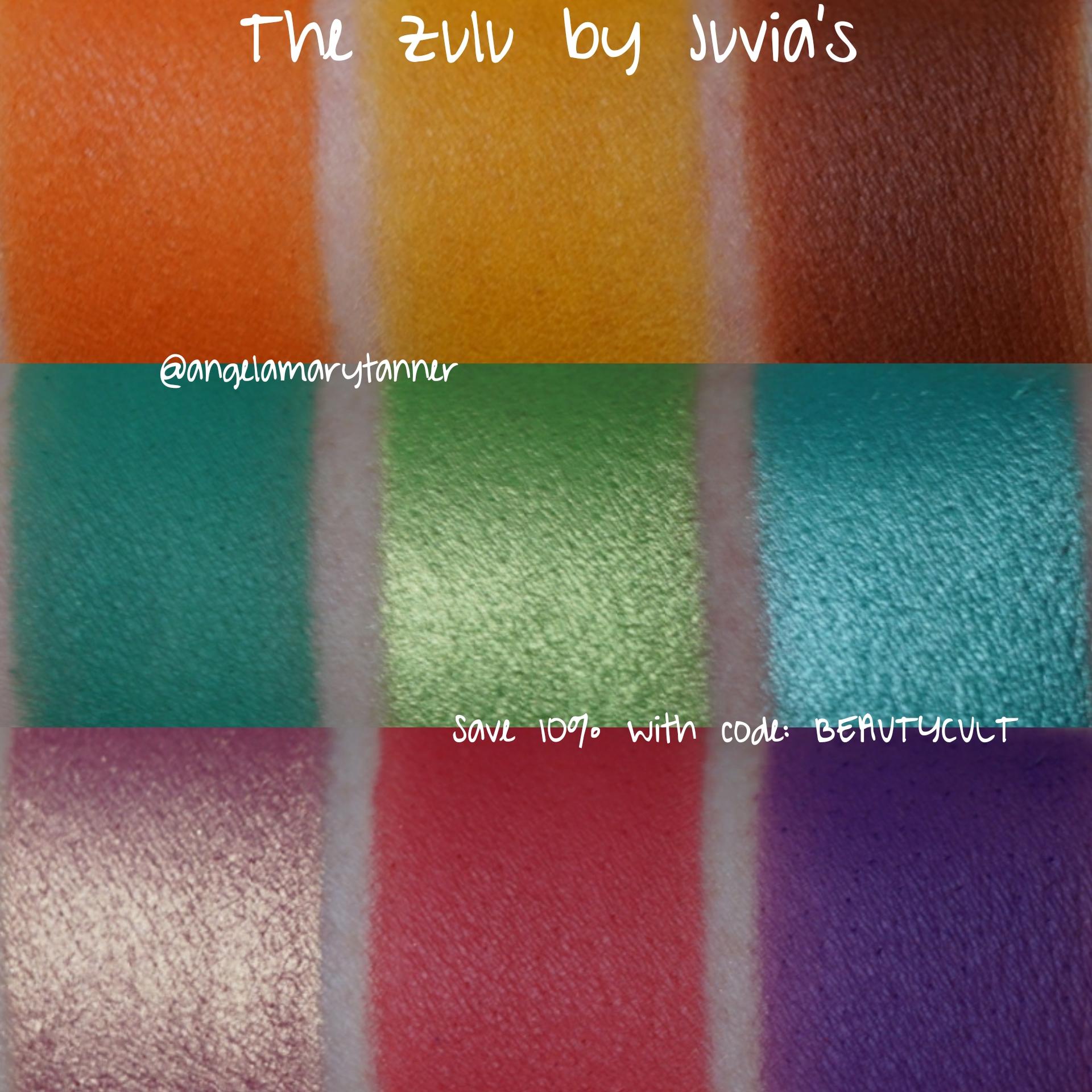 The Zulu Palette by Juvia's Place #5