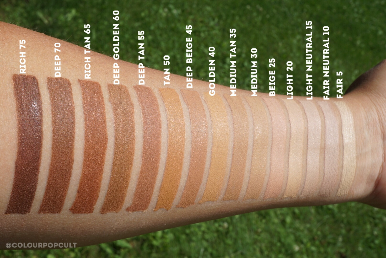 Colourpop Cosmetics No Filter Concealer Reviews And Swatches And Brushes Overview Our Beauty Cult