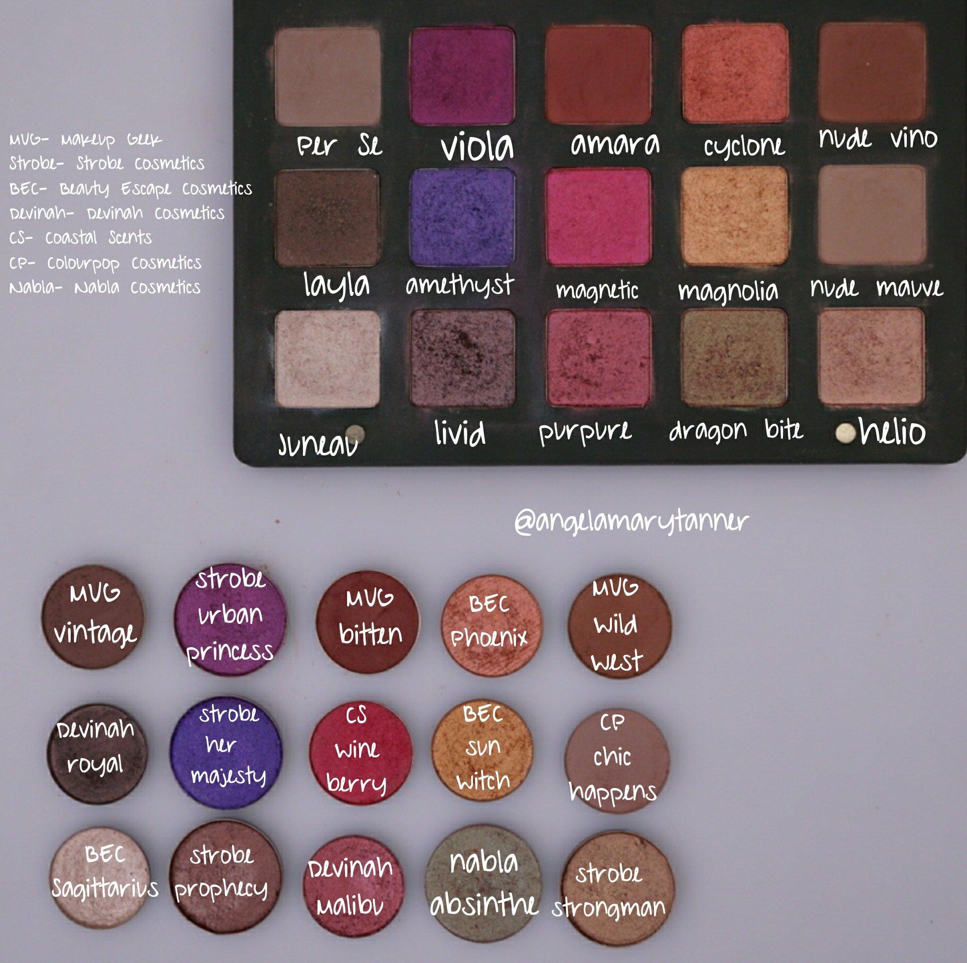 Lila Eyeshadow Palette by Natasha Denona #19