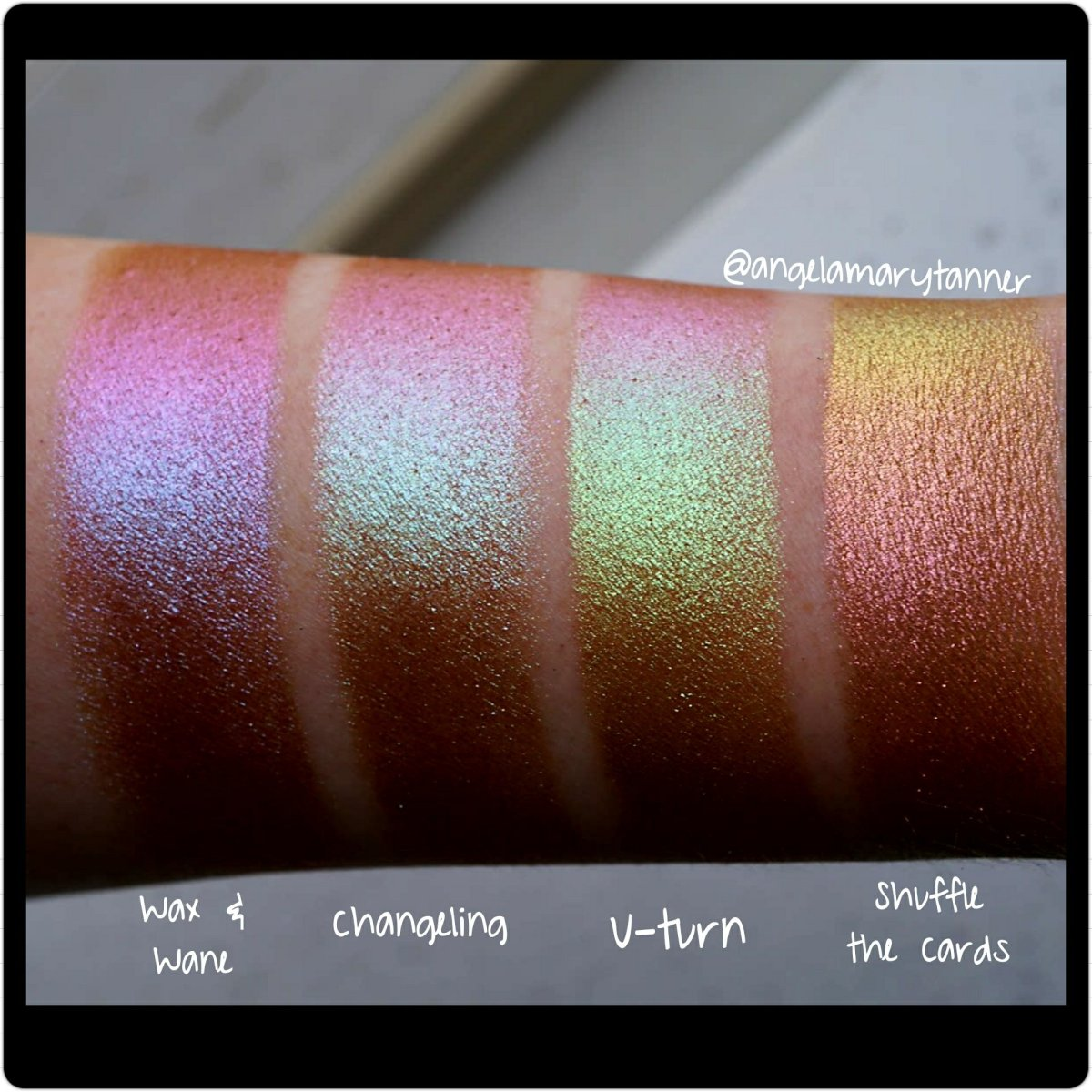 Topshop Chameleon Glow Eyeshadow Swatches Our Beauty Cult