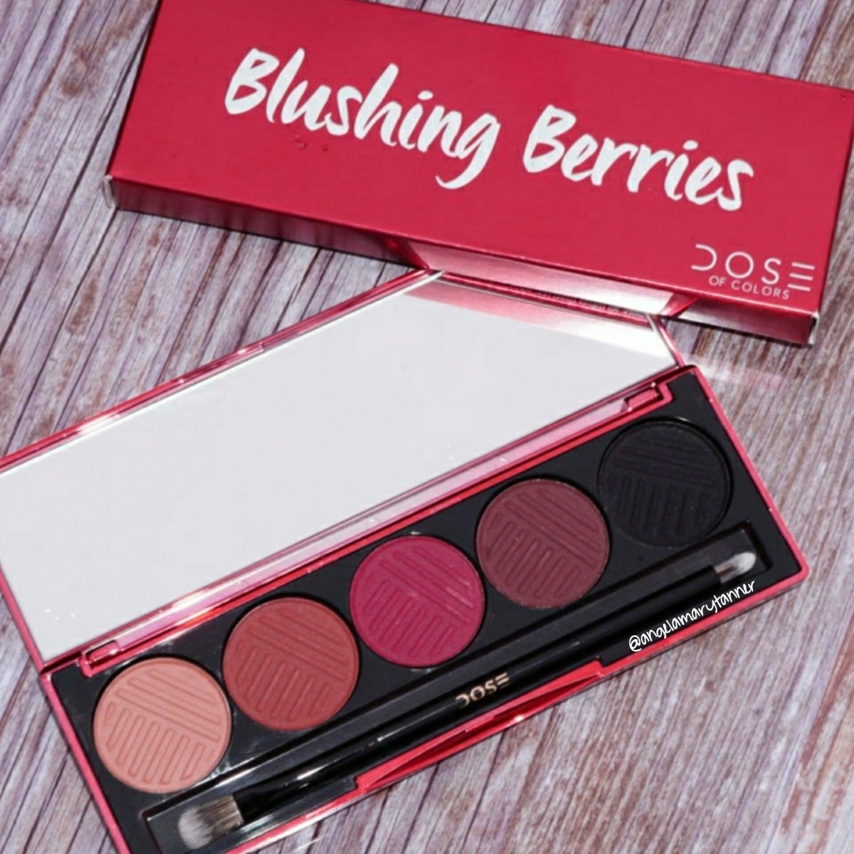 Five No Fail Palettes For: Dose Of Colors 'Blushing Berries' And 'Sassy Siennas