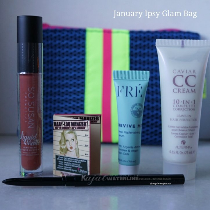 JANUARY 2018 IPSY GLAM BAG REVIEW