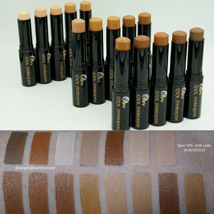 Opv Beauty Stick Foundation Review Swatches And Discount Code