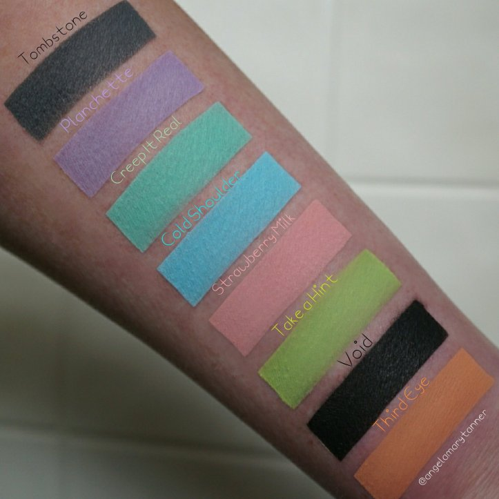 Strobe Cosmetics Creepy Cute Palette Review And