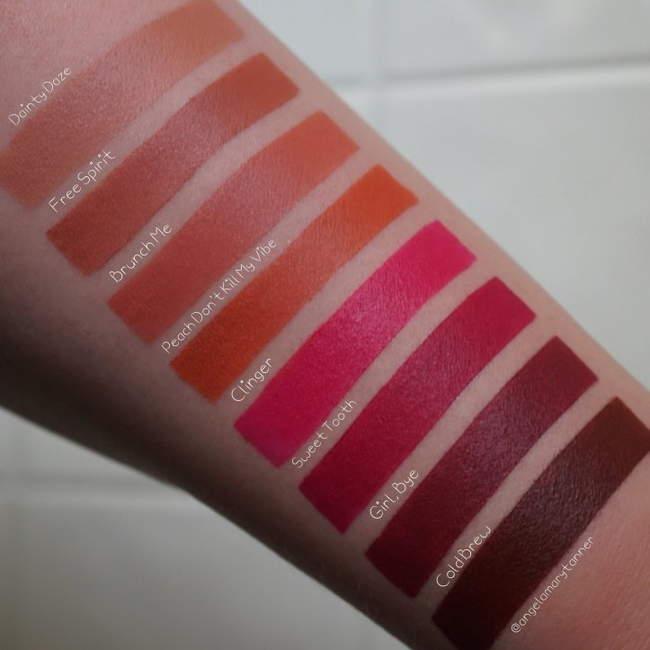 Nyx Professional Makeup Suede Matte Lipsticks Review And Swatches