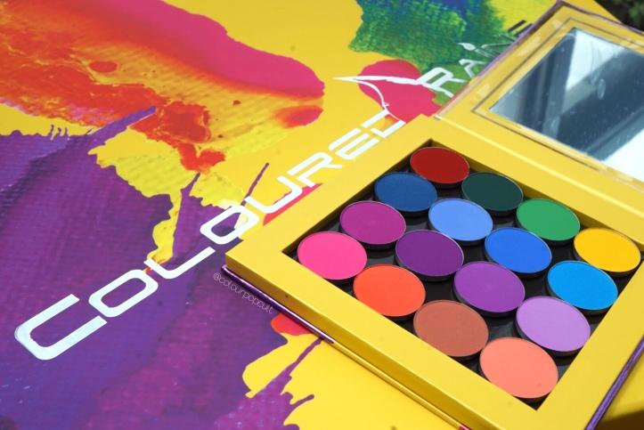 Coloured Raine Vivid Pigments cheaper Dupes