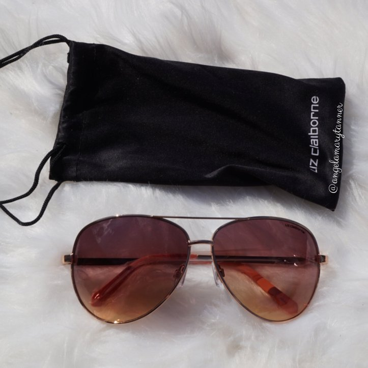 dae3f4a389 Liz Claiborne Sloane Rose Gold Sunglasses ( 32)- I love these sunglasses  too. I have a very similar pair from Marc Jacobs (I think ) but I m happy  to have a ...