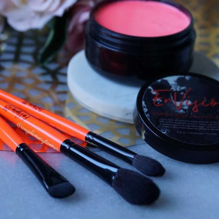 EnVisión Cosmetics Review: Infrared Brush Trio and Grapefruit Flower Cleanse!