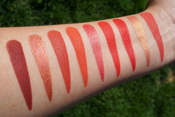 "ColourPop Cosmetics ""Main Squeeze"" Palette swatches – Our Beauty Cult"
