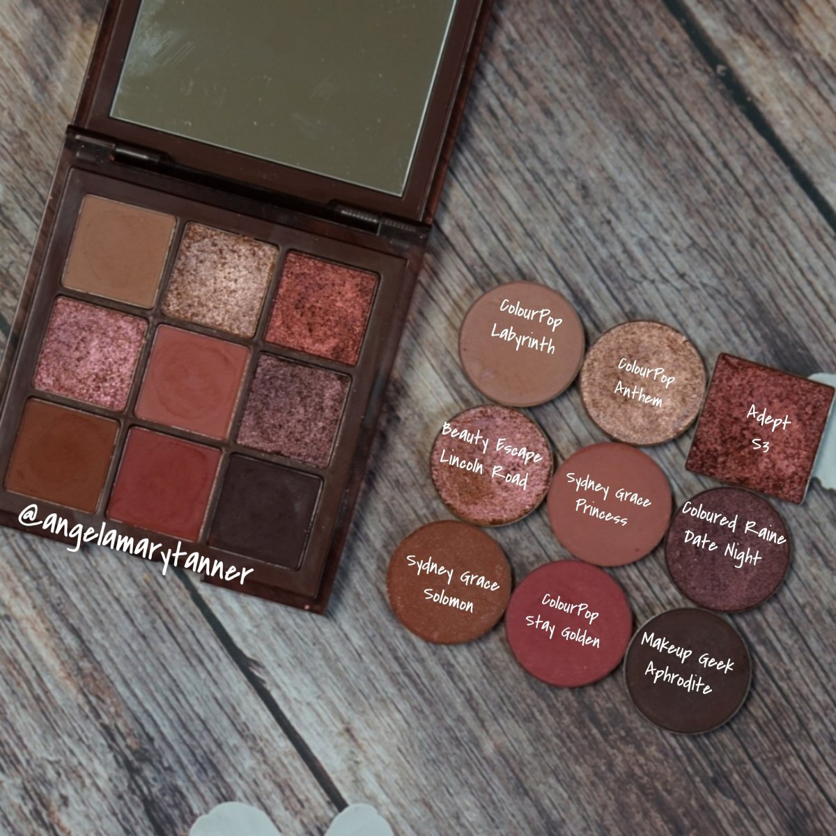 Nude Mood Shadow Palette by Colourpop #21